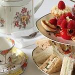 Vintage afternoon tea pary