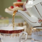 Vintage tea party catering