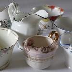 Vintage China Milk Jugs & Sugar Bowls