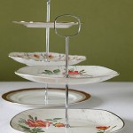 Two and Three Tiered Vintage Cake Stands