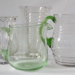 Vintage glass jugs for hire
